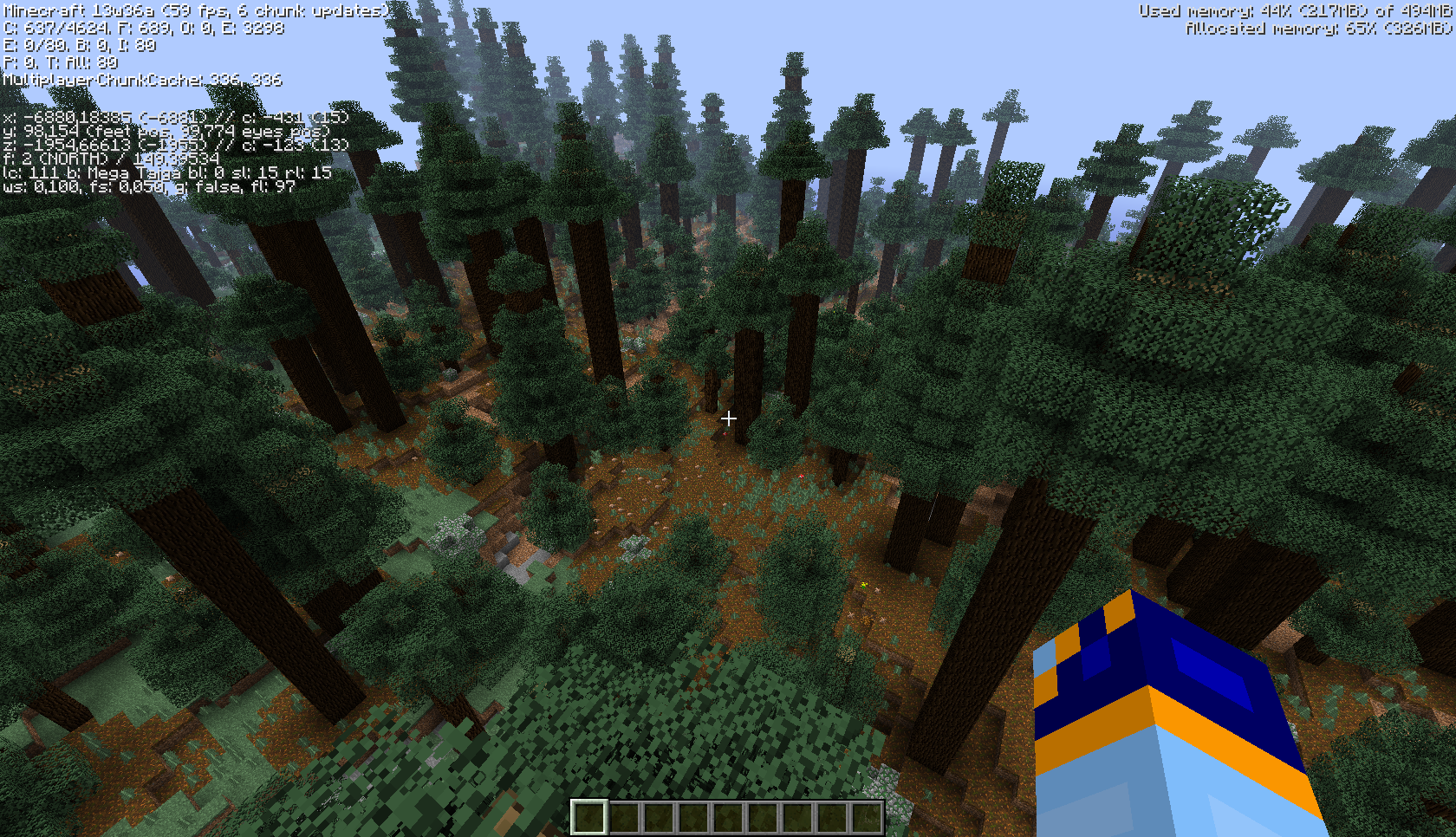 minecraft giant forest map download